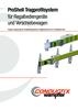 Preview: ProShell Tragprofilsystem für Regalbediengeräte und Verschiebewagen