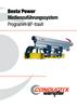 Bestapower Medienzuführungssystem Programm W<sup>5</sup>-traxX