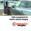 Cable management for electric vehicles charging