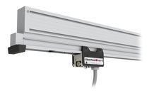 """Aluminum profile """"Bestapower A180"""" with integral compressed air supply and high load"""
