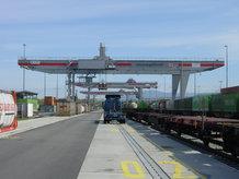 Containerkran (Road-to-Rail)