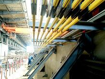 Portalkran in einer Werft